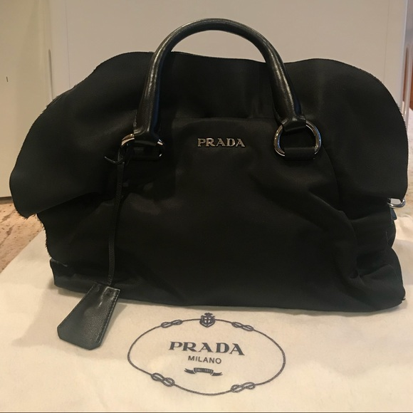 07289bd6dc820c Prada Bags | Bauletto Tessuto Nylon Ruffle Bag | Poshmark